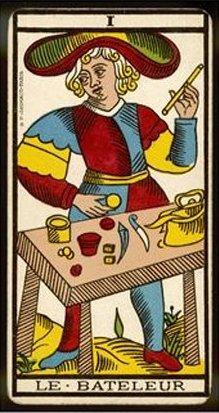 El Mago en Tarot de Marsella