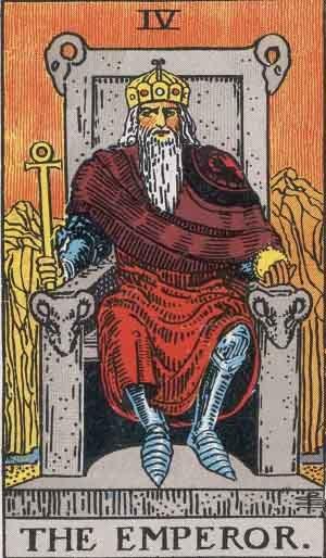 Emperador en Tarot