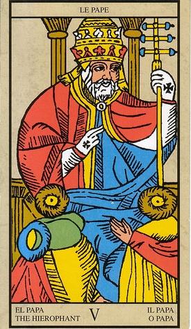 Hierofante o Papa