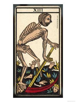 Muerte en el Tarot de Marsella