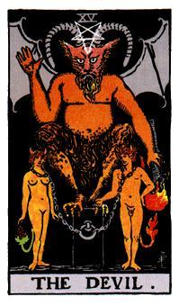 El Diablo en el Tarot, romper las cadenas