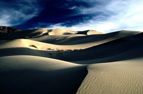 Desierto en sueños, soledad en el alma