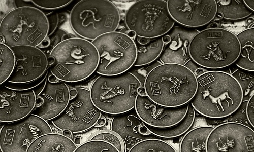 Monedas del Horoscopo Chino