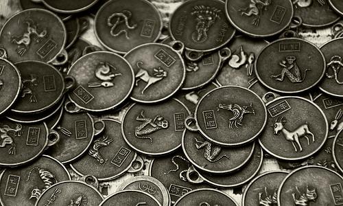 Monedas del Horoscopo Chino
