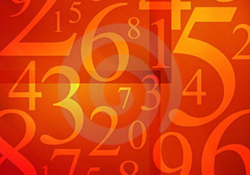 El significado simbólogico de los números 1 al 5