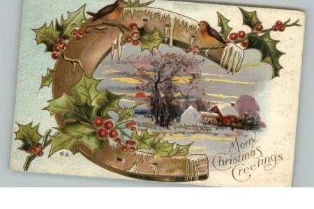 La herradura de Navidad, poderosa protección