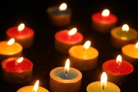 El lenguaje de las velas según sus colores